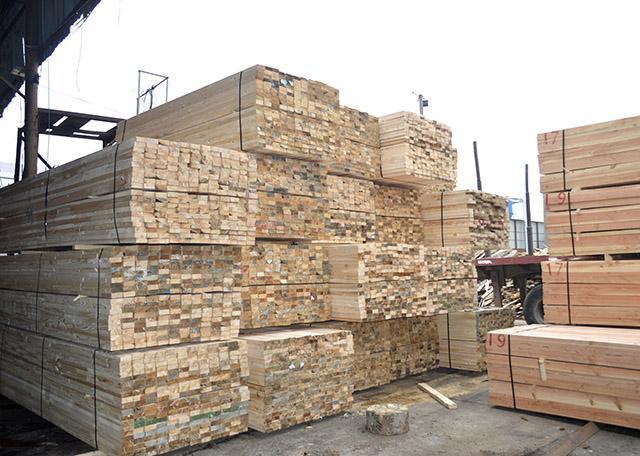 叙述建筑木方生产加工的加工工艺?