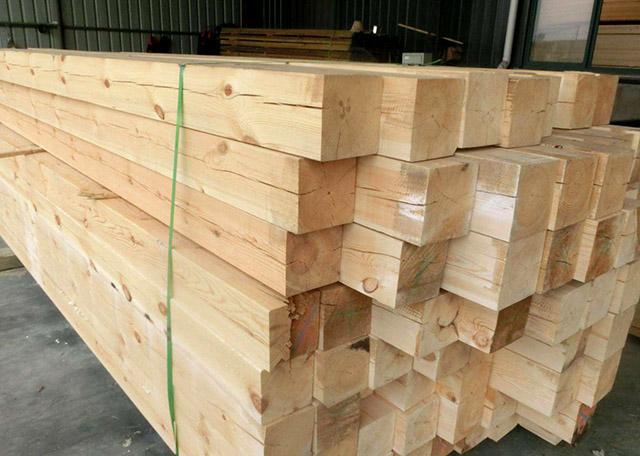 建筑木方的生产加工及其留意的事宜有什么?